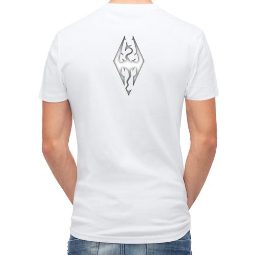 Мужская футболка полусинтетическая  Фото 02, Dovakiin vs Alduin
