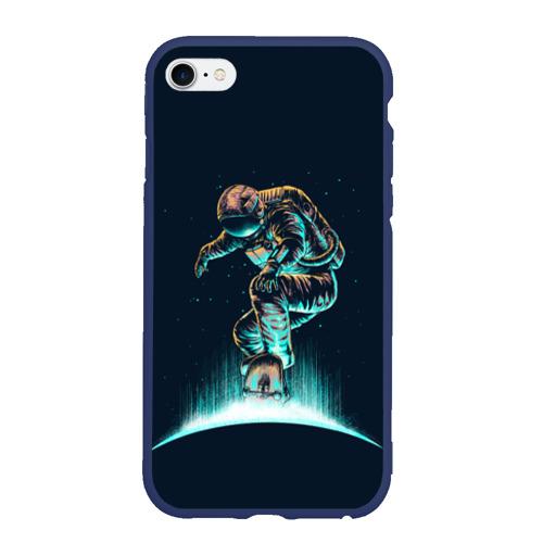 Чехол для iPhone 6/6S матовый Планетарный скейтбординг Фото 01