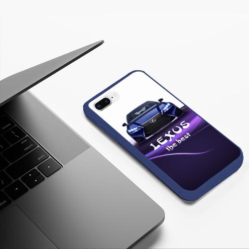 Чехол для iPhone 7Plus/8 Plus матовый Lexus the best Фото 01
