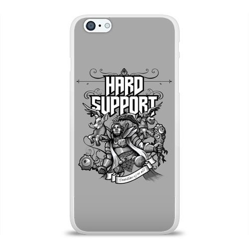 Чехол для Apple iPhone 6Plus/6SPlus силиконовый глянцевый Hard Support Фото 01