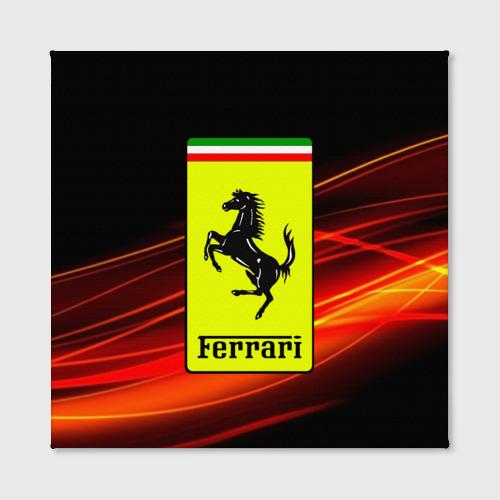 Холст квадратный  Фото 02, Ferrari