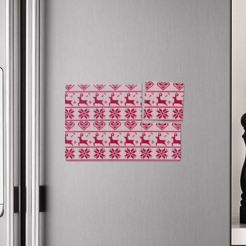 Магнитный плакат 3Х2  Фото 04, Розовый свитер
