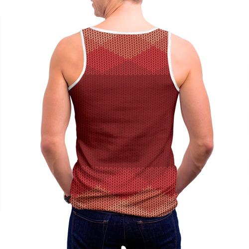 Мужская майка 3D  Фото 04, Простой свитер 3
