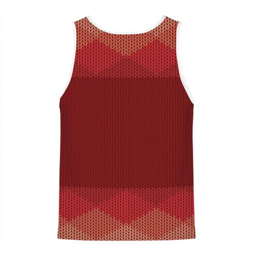 Мужская майка 3D  Фото 02, Простой свитер 3