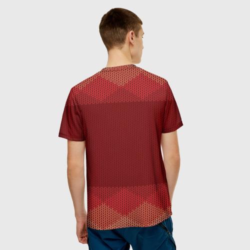 Мужская футболка 3D  Фото 02, Простой свитер 3