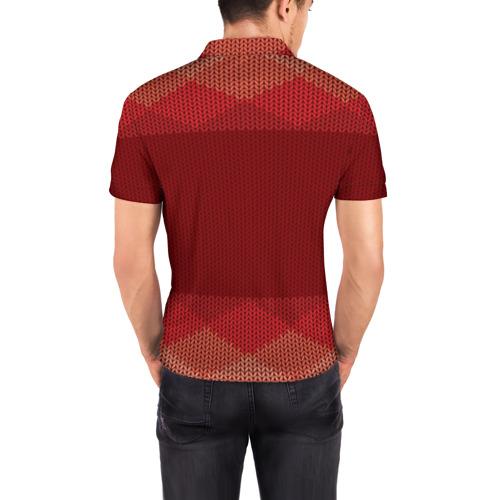 Мужская рубашка поло 3D  Фото 04, Простой свитер 3
