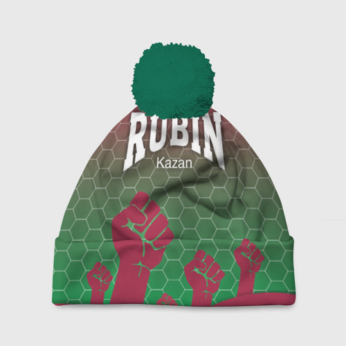 Шапка 3D c помпоном Rubin Kazan