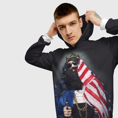 Мужская толстовка 3D Большой Русский Босс