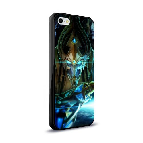 Чехол для Apple iPhone 5/5S силиконовый глянцевый  Фото 02, StarCraft