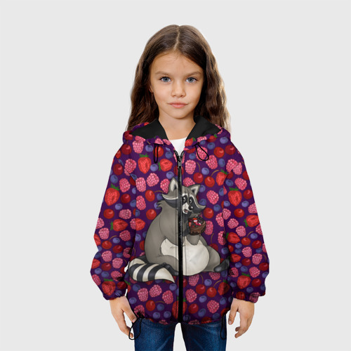 Детская куртка 3D Енотик сладкоежка Фото 01