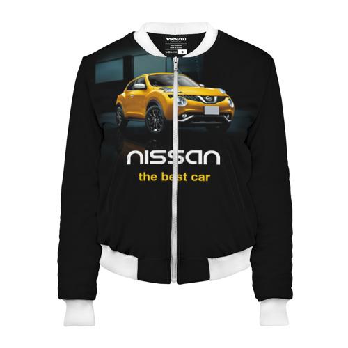 Женский бомбер 3D  Фото 01, Nissan the best car
