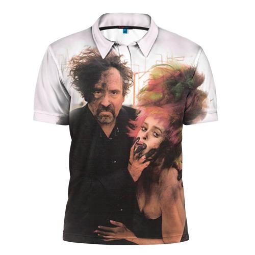 Мужская рубашка поло 3D  Фото 01, Тим Бёртон