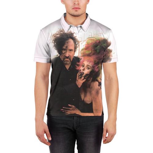 Мужская рубашка поло 3D  Фото 03, Тим Бёртон