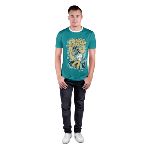 Мужская футболка 3D спортивная  Фото 04, Bring Me The Horizon