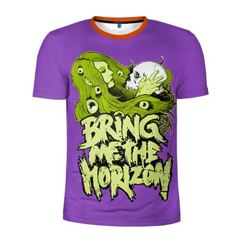 Мужская футболка 3D спортивная Bring Me The Horizon Фото 01