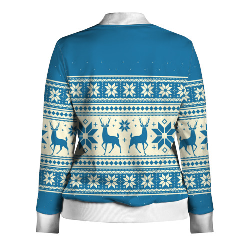 Женская олимпийка 3D  Фото 02, Новогодний свитер