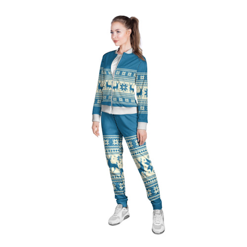 Женская олимпийка 3D  Фото 05, Новогодний свитер