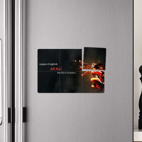 Магнитный плакат 3Х2  Фото 04, Akali