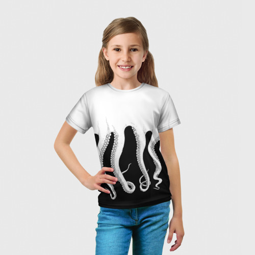 Детская футболка 3D Octopus Фото 01