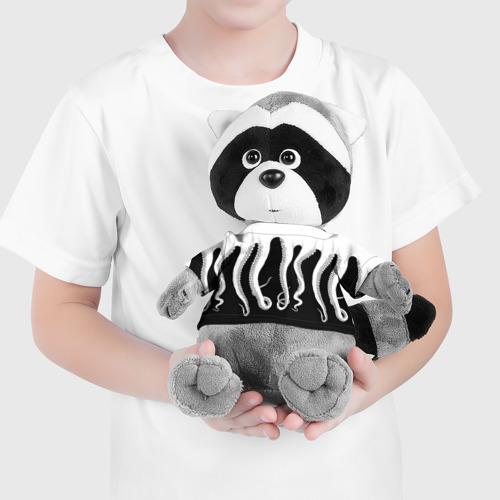 Енотик в футболке 3D Octopus Фото 01