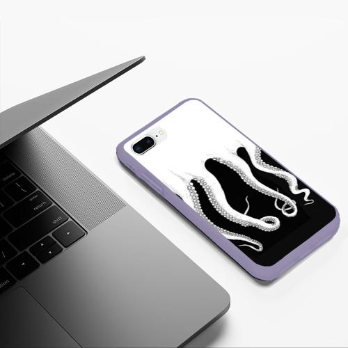 Чехол для iPhone 7Plus/8 Plus матовый Octopus Фото 01