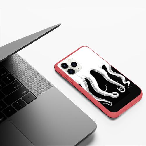 Чехол для iPhone 11 Pro матовый Octopus Фото 01