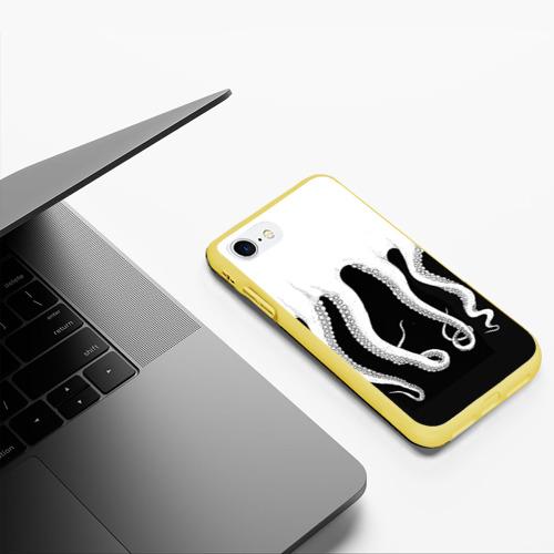 Чехол для iPhone 7/8 матовый Octopus Фото 01