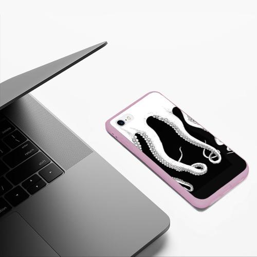 Чехол для iPhone 6/6S матовый Octopus Фото 01