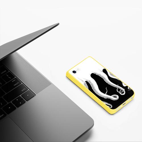 Чехол для iPhone 5/5S матовый Octopus Фото 01
