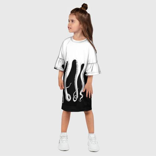 Детское платье 3D Octopus Фото 01