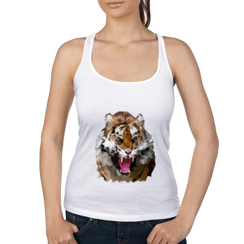 Женская майка борцовка  Фото 01, Тигр
