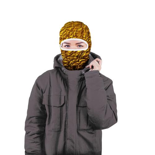 Балаклава 3D  Фото 04, Чистое золото