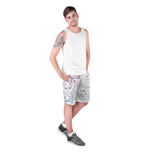 Мужские шорты 3D  Фото 03, Монстрики
