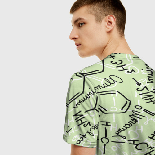 Мужская футболка 3D Формула Фото 01