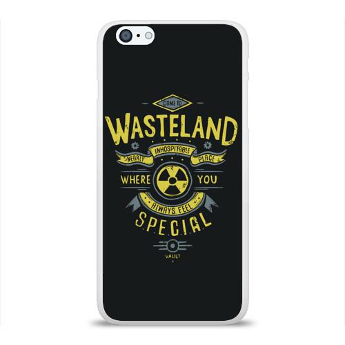 Чехол для Apple iPhone 6Plus/6SPlus силиконовый глянцевый  Фото 01, Come to Wasteland