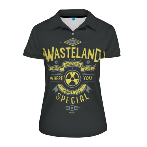 Женская рубашка поло 3D Come to Wasteland