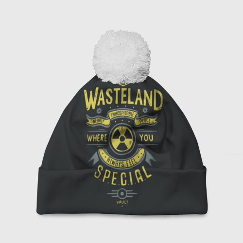 Шапка 3D c помпоном  Фото 01, Come to Wasteland