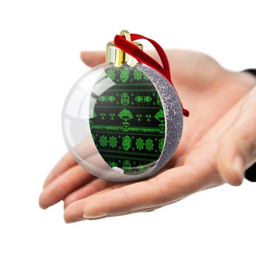 Ёлочный шар с блестками  Фото 03, Ядерная зима