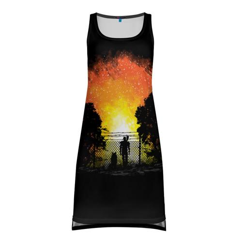 Платье-майка 3D  Фото 01, Wasteland Apocalypse