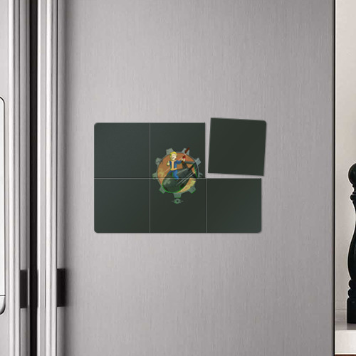 Магнитный плакат 3Х2  Фото 04, Flying Vault Boy