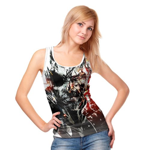 Женская майка 3D  Фото 05, Metal gear solid 5