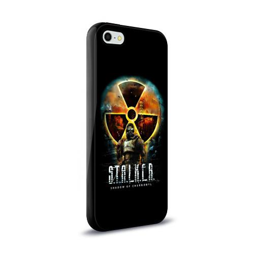 Чехол для Apple iPhone 5/5S силиконовый глянцевый  Фото 02, STALKER: Shadow of Chernobyl