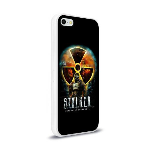 Чехол для Apple iPhone 5/5S силиконовый глянцевый STALKER: Shadow of Chernobyl Фото 01