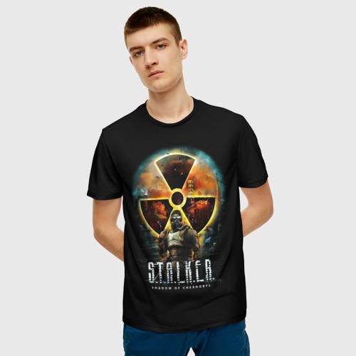 Мужская футболка 3D STALKER: Shadow of Chernobyl Фото 01