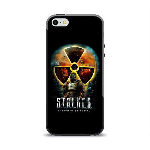 Чехол для Apple iPhone 5/5S силиконовый глянцевый  Фото 01, STALKER: Shadow of Chernobyl