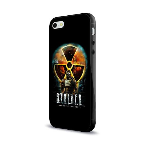 Чехол для Apple iPhone 5/5S силиконовый глянцевый  Фото 03, STALKER: Shadow of Chernobyl