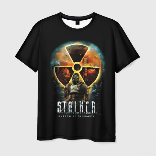 Мужская футболка 3D STALKER: Shadow of Chernobyl