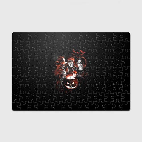 Пазл магнитный 126 элементов  Фото 01, Halloween Horror Team