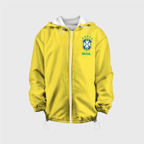 Детская куртка 3D  Фото 01, Сборная Бразилии
