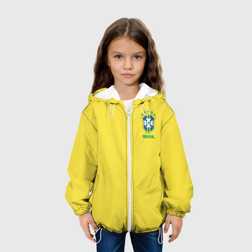 Детская куртка 3D  Фото 04, Сборная Бразилии